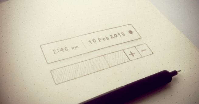 {art.science} – Sketching for user interfaces